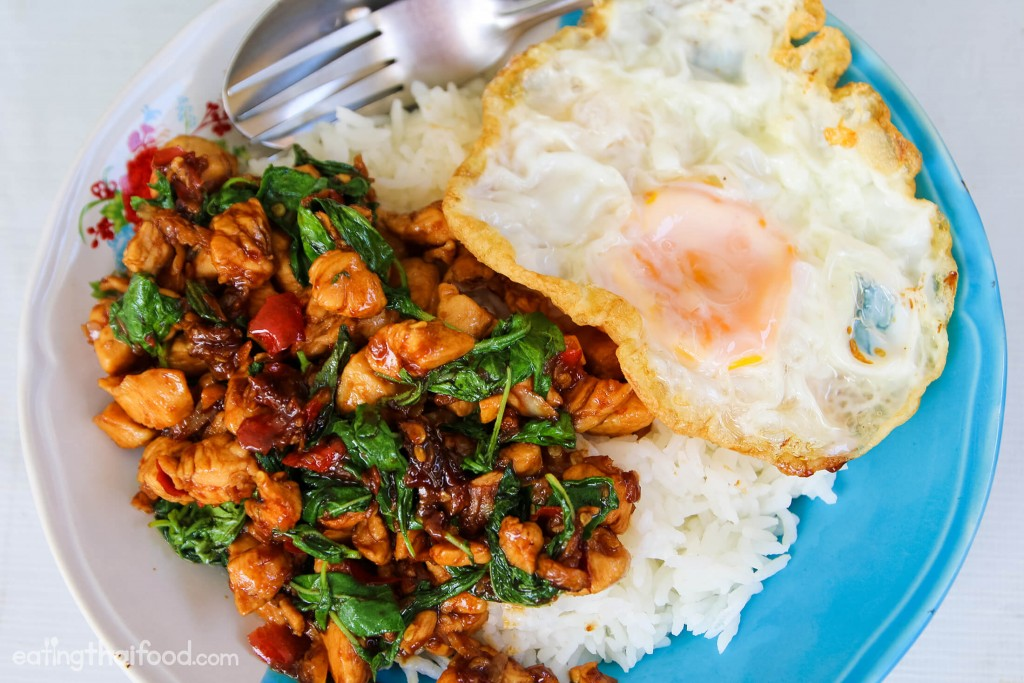 Authentic thai basil chicken recipe forumfinder Image collections