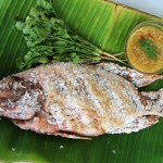 thai grilled fish recipe feature 150x150 Tom Kha Gai Recipe (วิธีทำ ต้มข่าไก่)   Authentic Thai Style
