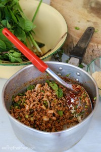 Thai larb recipe