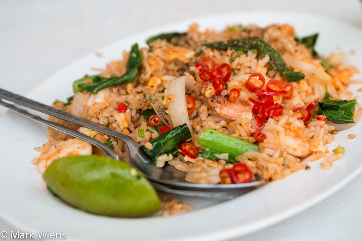 Spicy Thai Fried Rice With Shrimp Thai Fried Rice Recipe With