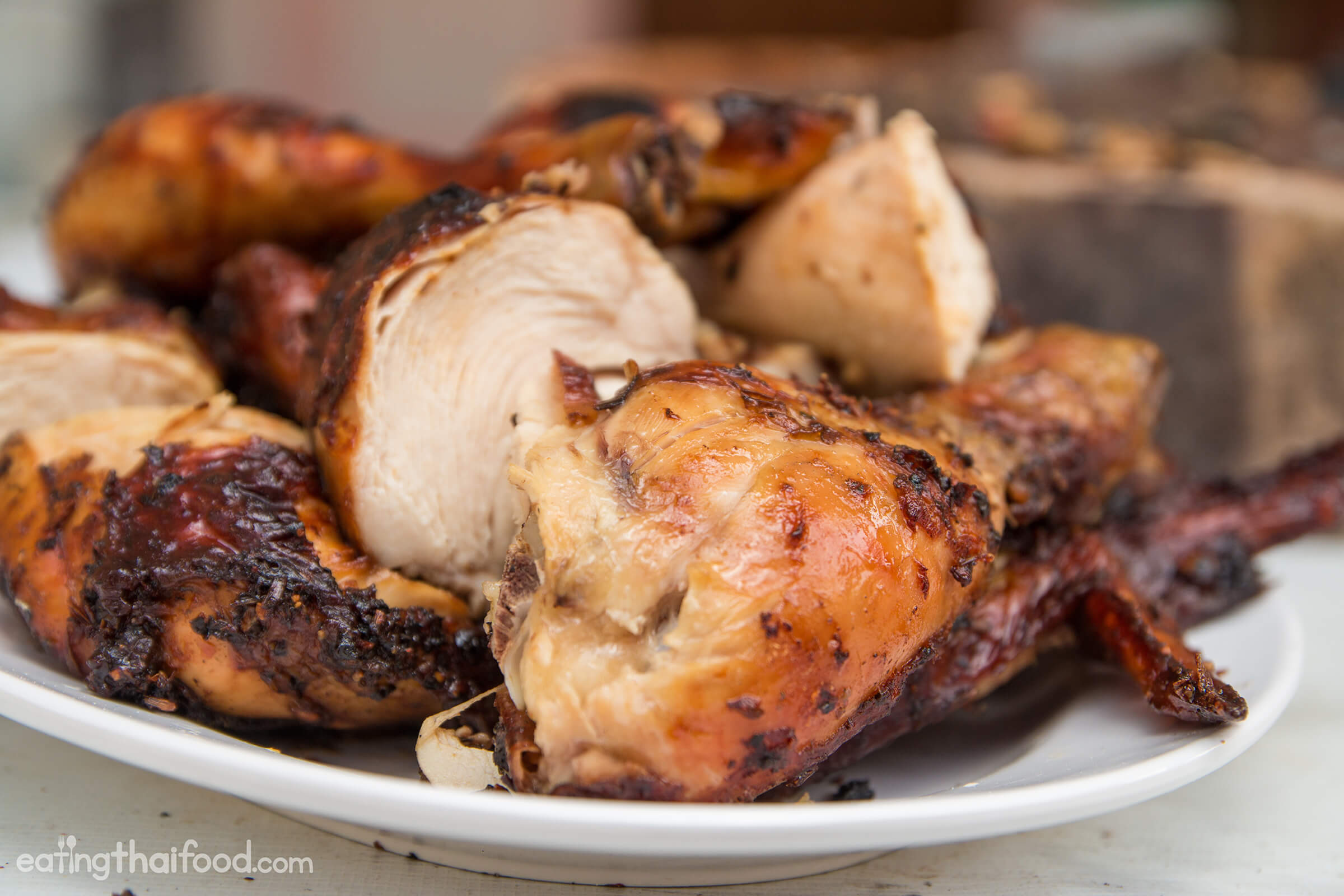 Authentic Thai Grilled Chicken Recipe (Gai Yang ไก่ย่าง
