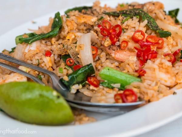 Thai fried rice recipe