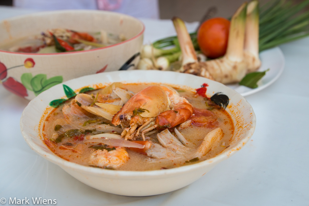 Tom Yum Soup Recipe ต มยำก ง Authentic Thai Style