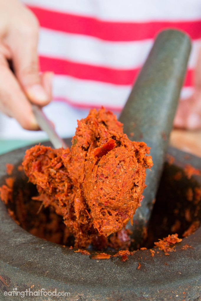 Thai red curry paste recipe