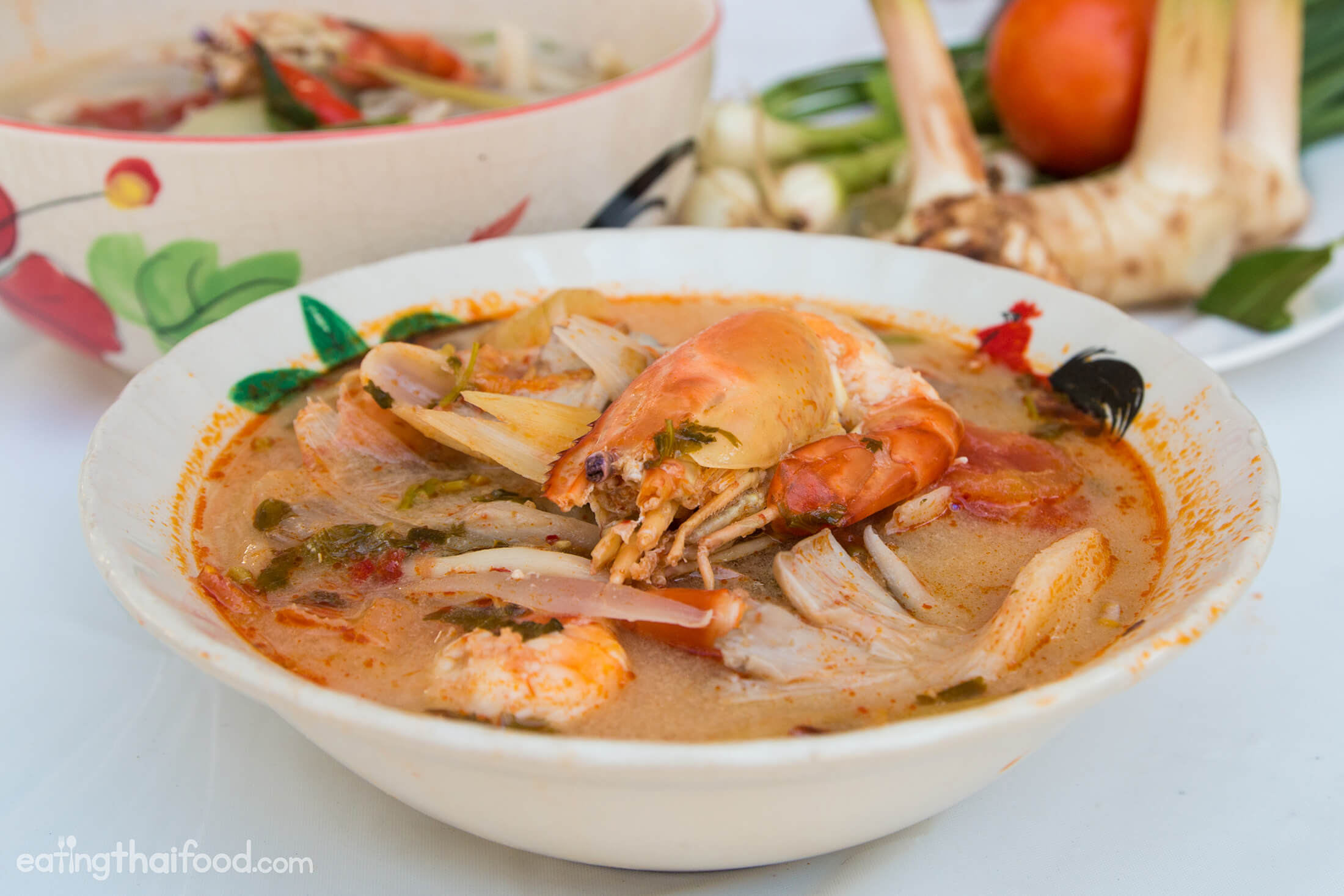 Tom yum soup recipe authentic thai style - Thailand cuisine recipes ...