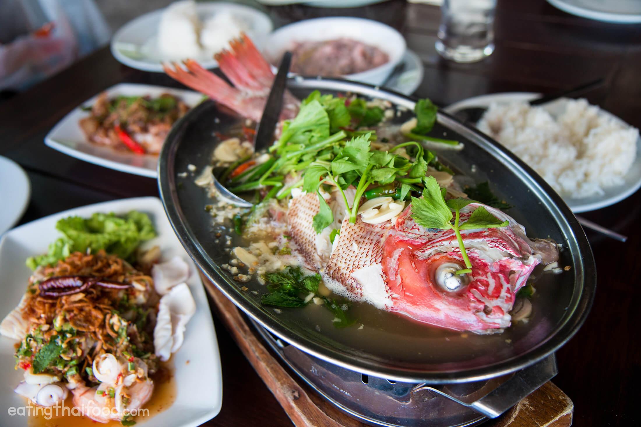 Sabeinglae Restaurant For Seafood In Koh Samui