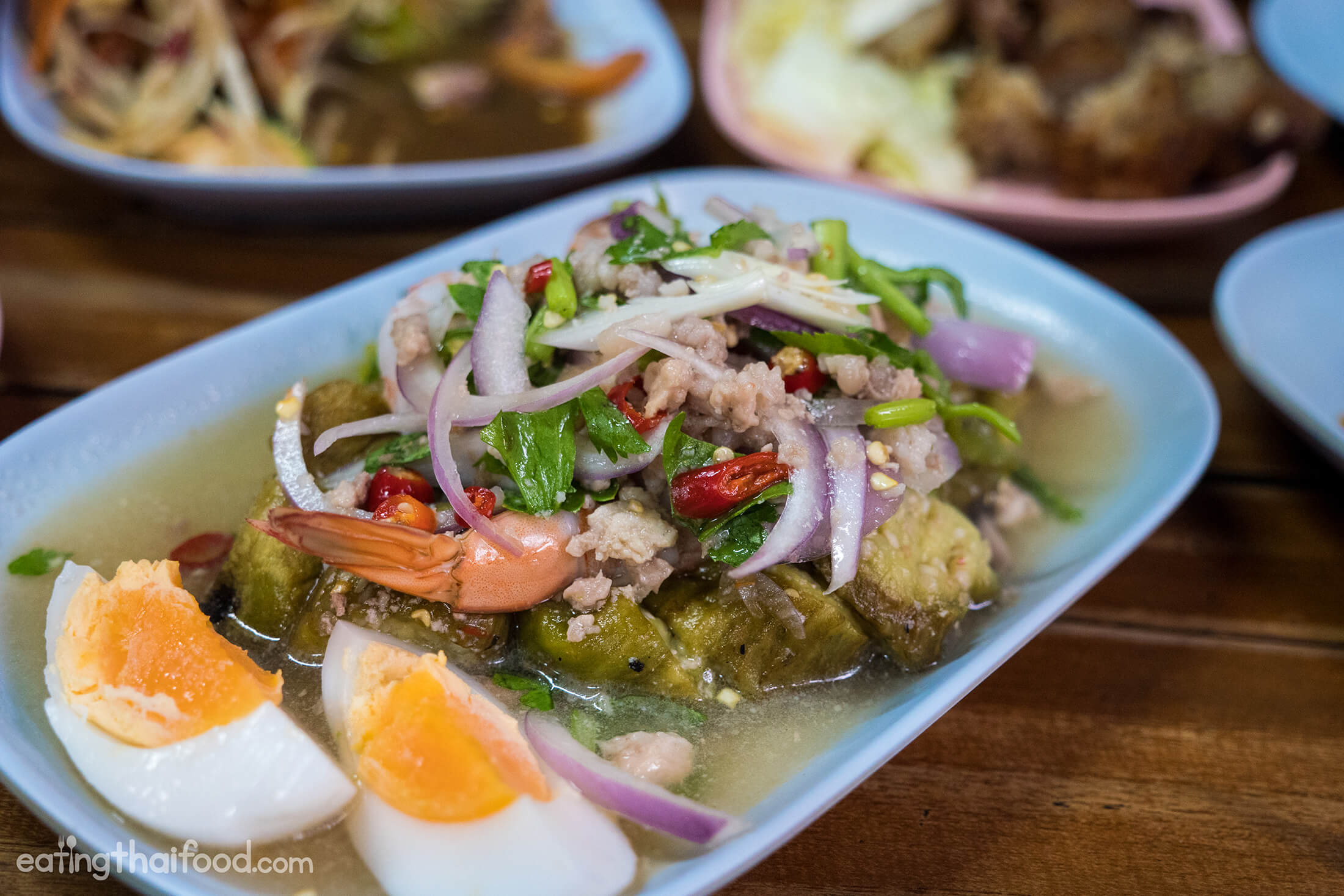isaan food in thailand excellent isaan food at wang lang market