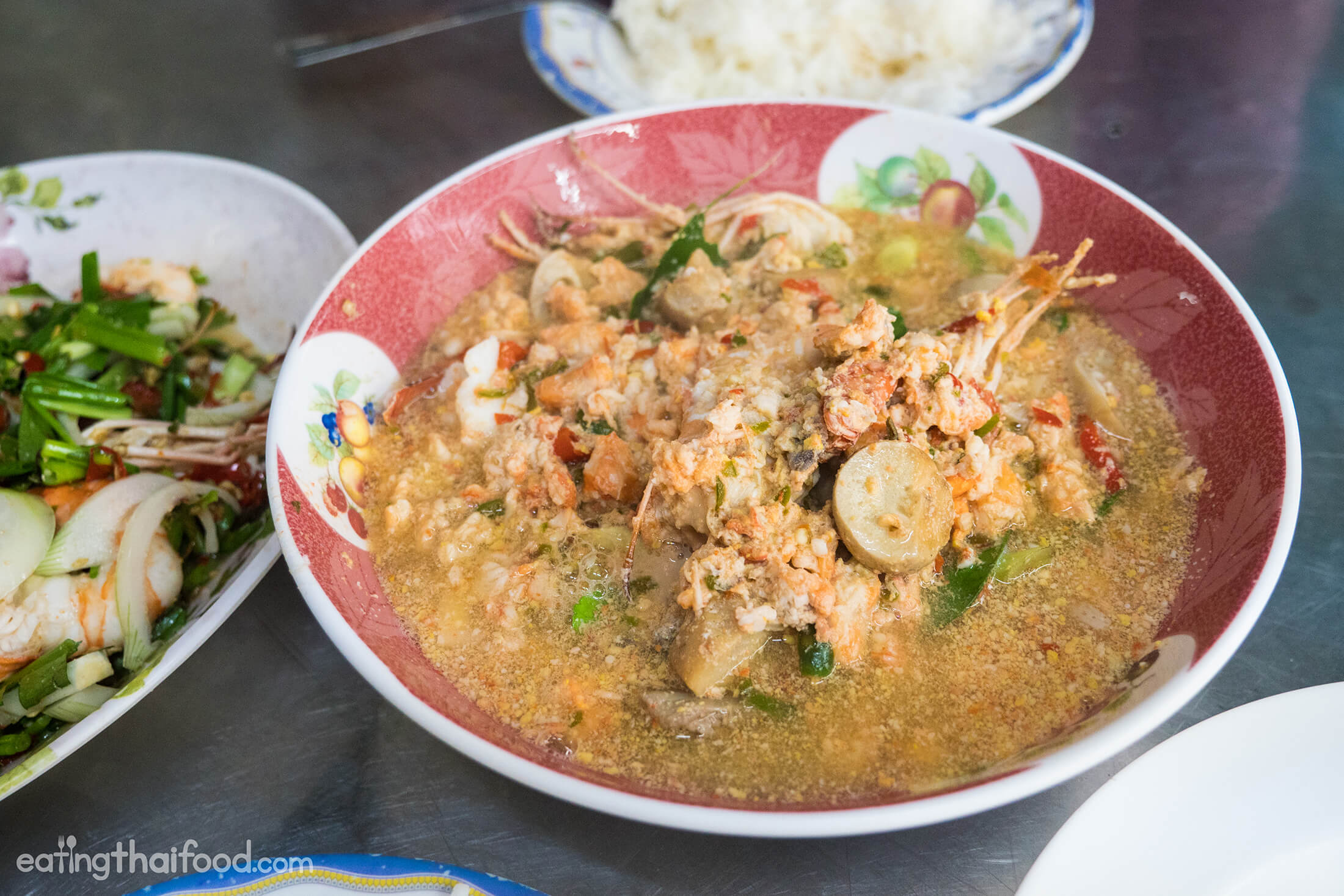 The Ultimate Street Food Tom Yum Goong in Bangkok (ร้านต้มยำกุ้งบางลำพู)