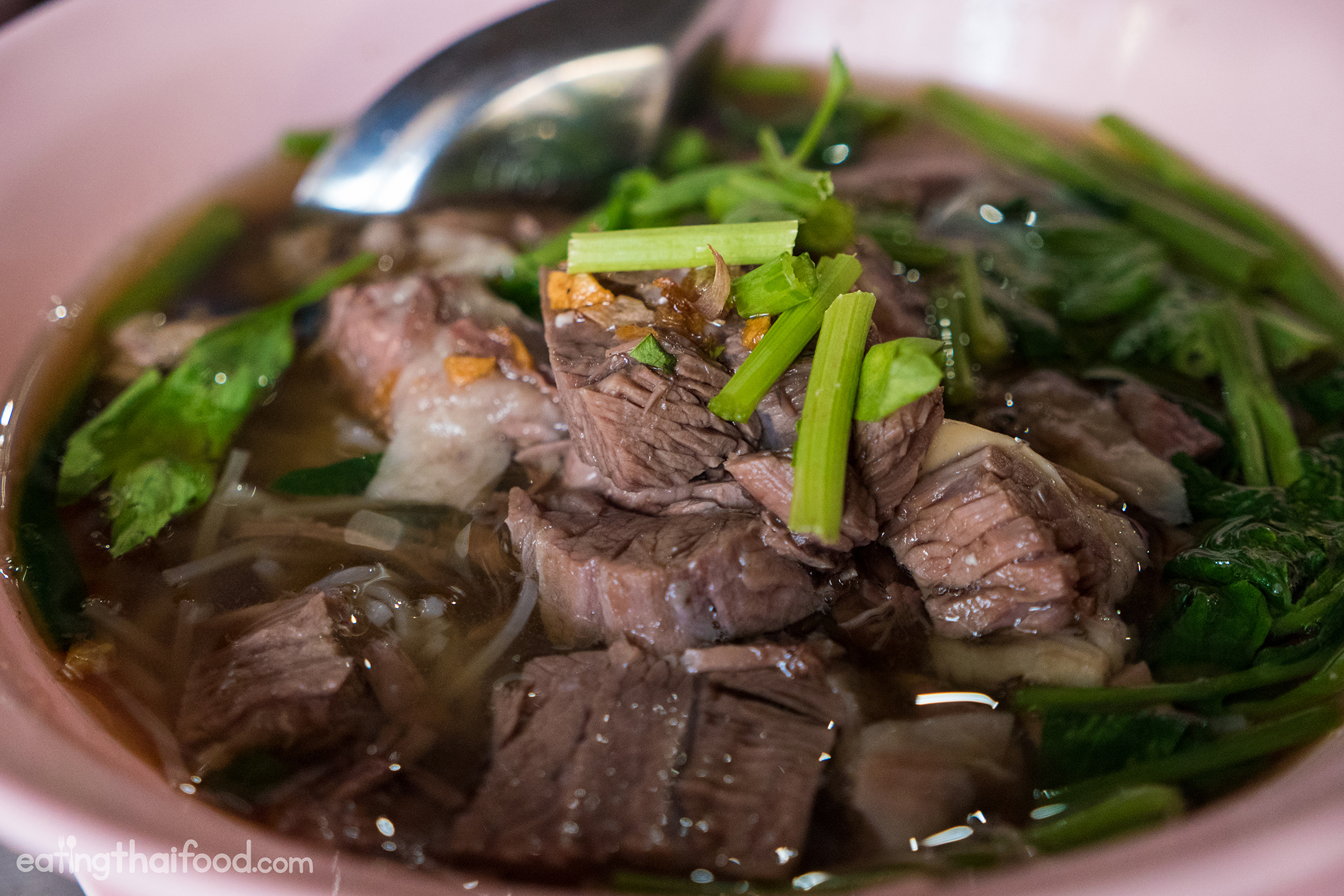 Famous Thai Beef Noodles Near Khao San Road
