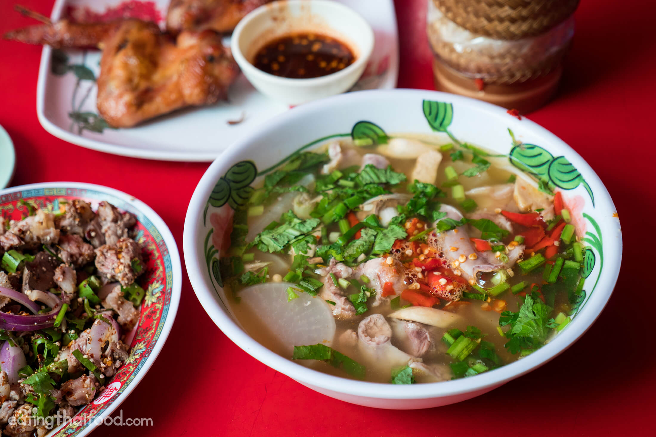 Real-Deal Isaan Food in Bangkok at Som Tam Jay So (ร้านส้มตำเจ๊โส)