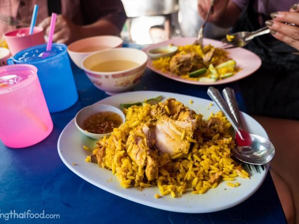 best Thai biryani at Silom Soi 20