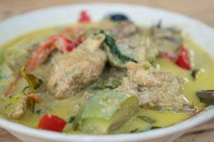 authentic Thai green curry recipe