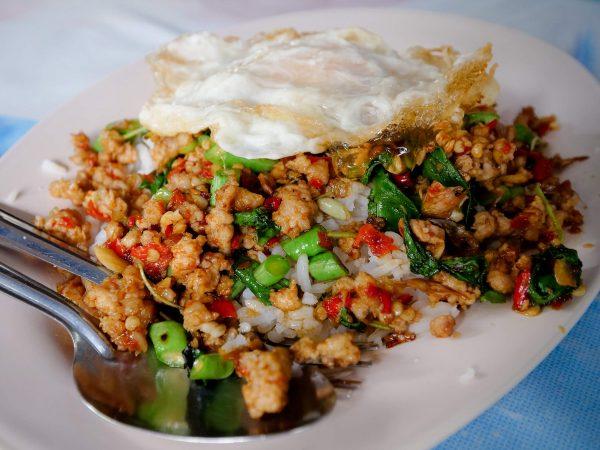 best Thai basil stir fry