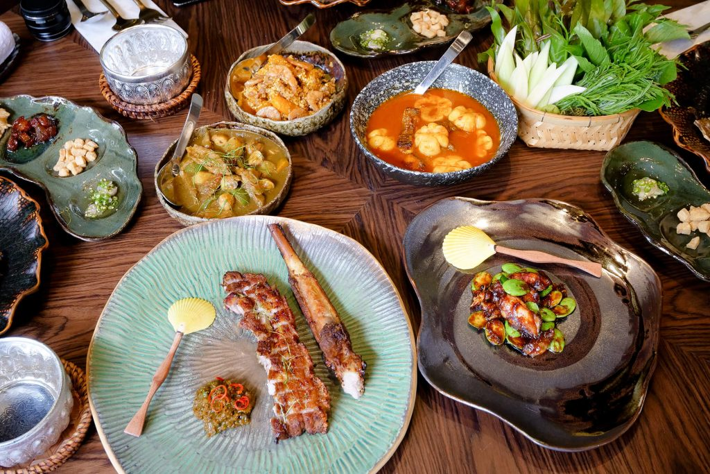Sorn Restaurant ศรณ 22 Course Meal Of Fine Southern Thai Food In Bangkok