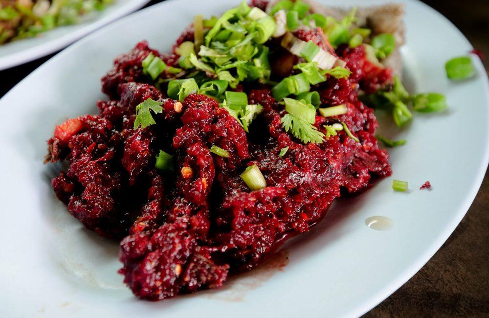 Amazing Raw Meat Salad