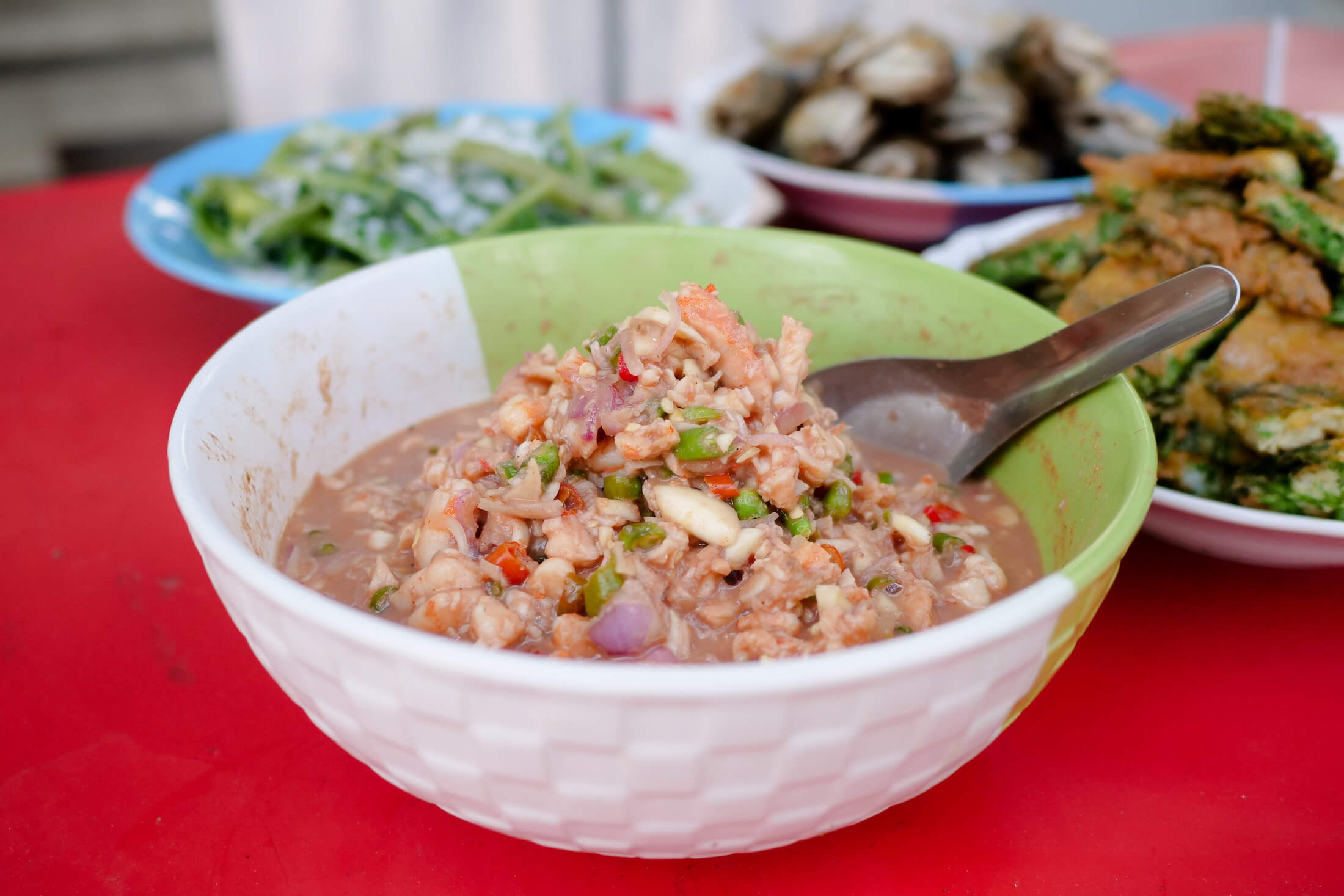Southern Thai style authentic recipe for Thai shrimp chili dip