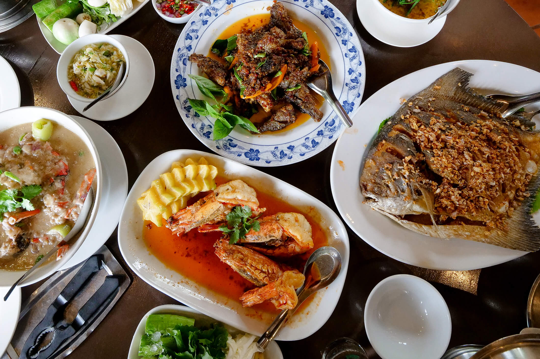 best Thai seafood restaurants