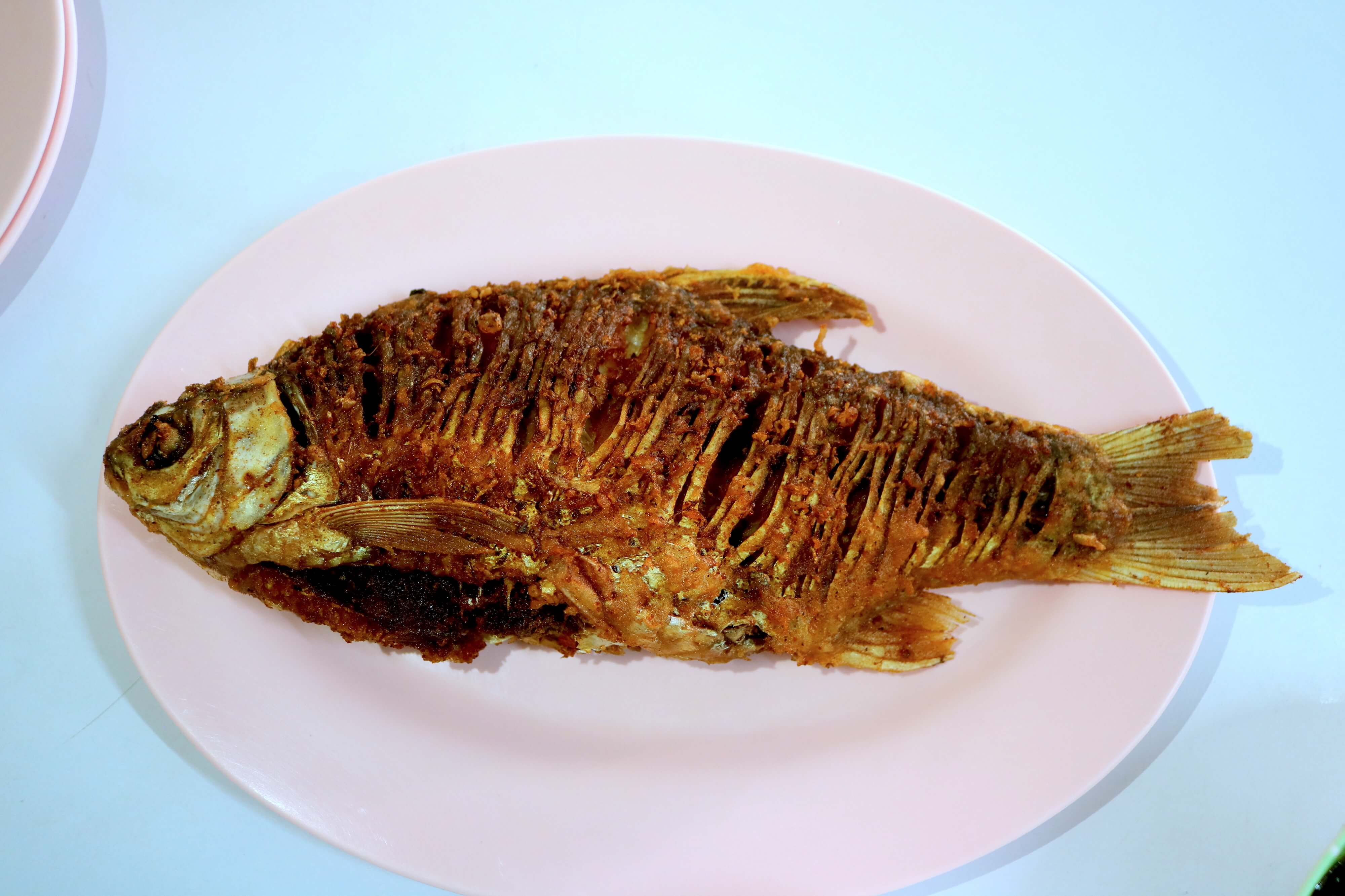 Silver barb is one of many fish that Esaan (and Laos) people love to ferment. The umami possibilities of foods like this can just never be underestimated!