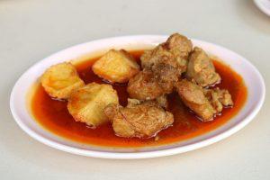 Pork and Potato Curry at Nong Bee Burmese Library