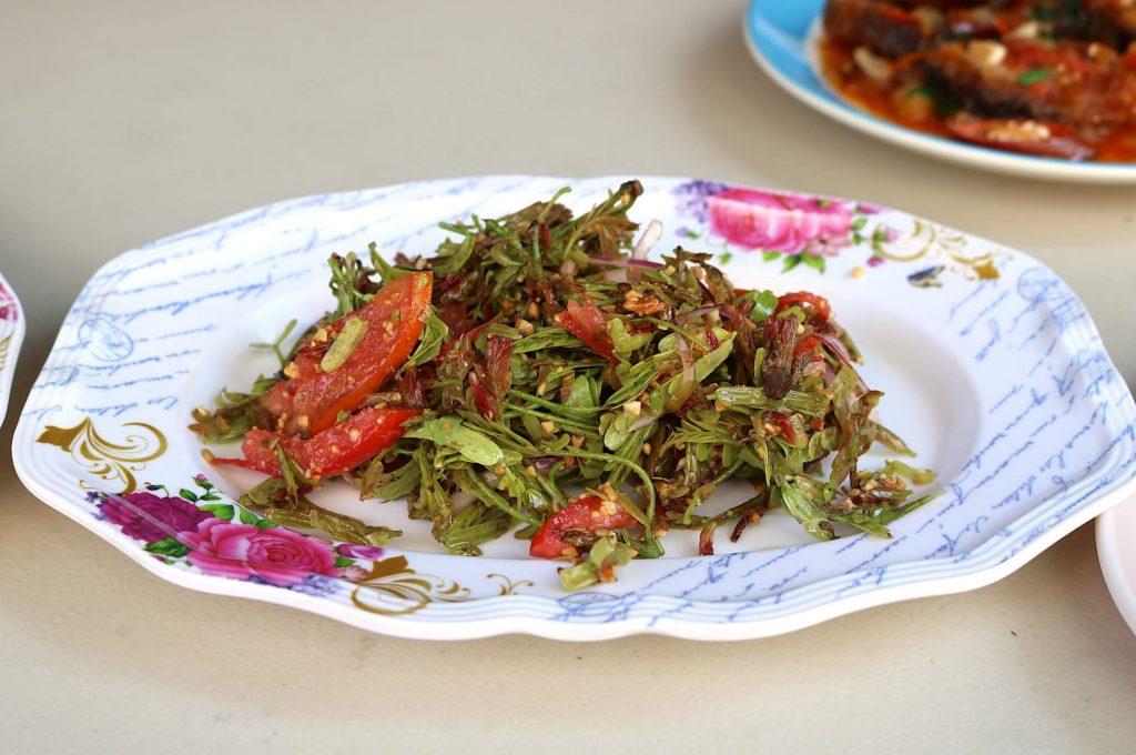 Tamarind Leaf Salad at Nong Bee Burmese Library