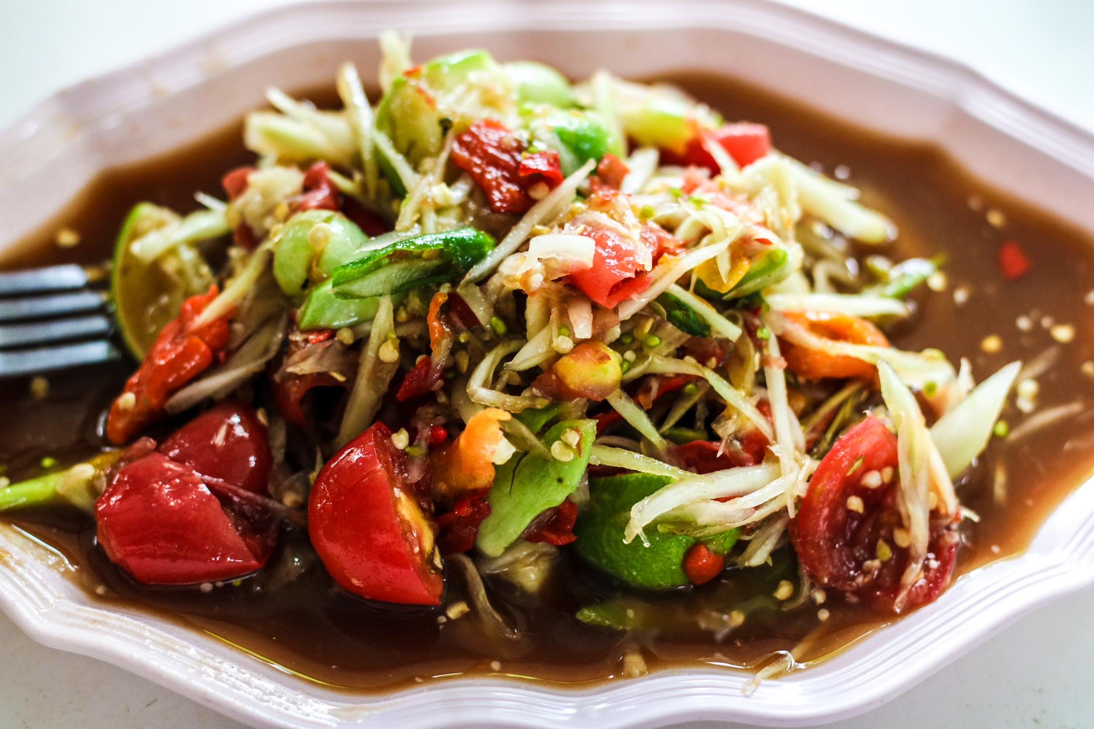 Her Laos-Style Papaya Salad is Famous for a Reason!